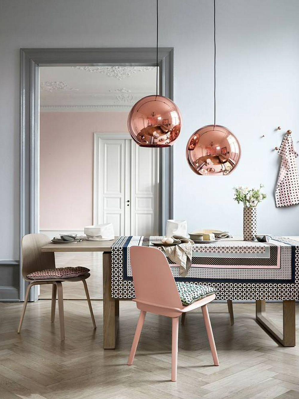 adelaparvu.com despre interioare cu roz pudrat si auriu, Foto Nostralux