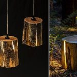adelaparvu.com despre lampi din busteni, Cracked Log Lamps, designer Duncan Meerding (1)