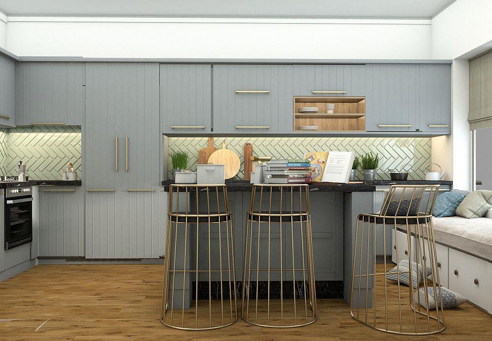 adelaparvu.com despre locul frigiderului in bucatarie, Foto 3D design Alderamin Studio Bucuresti (4)