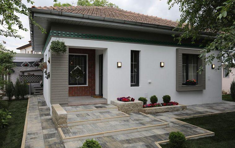 Casa după renovarea făcută de către echipa Visuri la cheie.