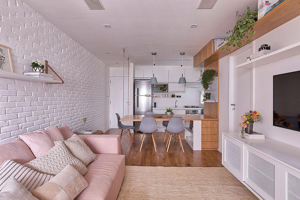 adelaparvu.com despre apartament 56 mp in stilscandinav, design Voa Arquitetura, Foto Rafael Renzo (6)