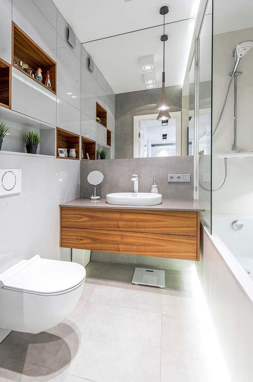 adelaparvu.com despre apartament lung si ingust 70 mp, interior design Desenie, Foto Marcin Urban (5)