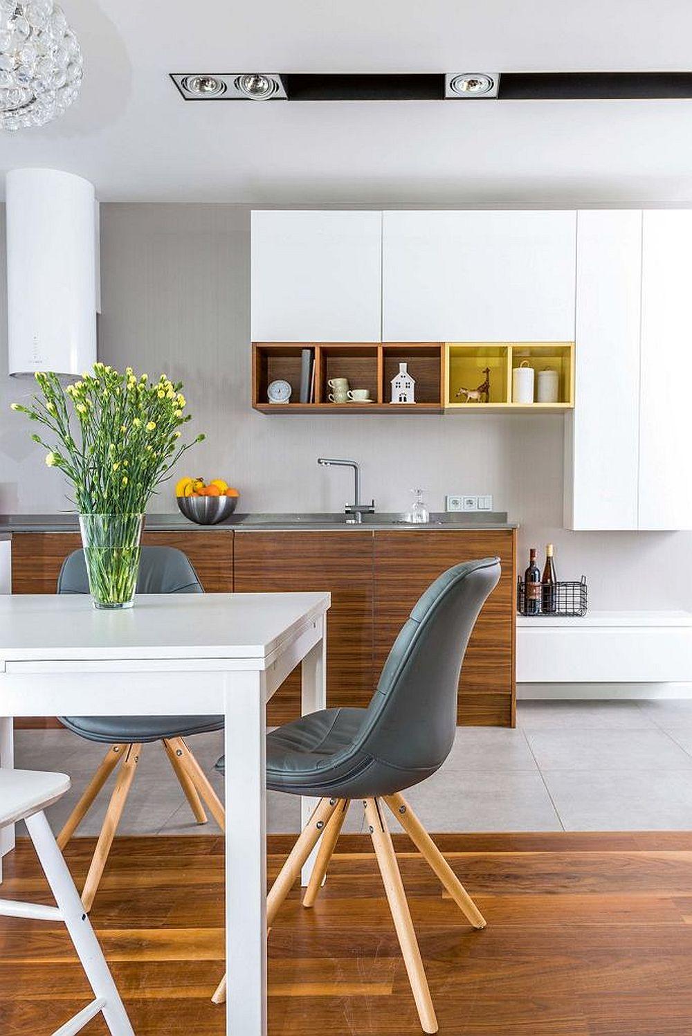 adelaparvu.com despre apartament lung si ingust 70 mp, interior design Desenie, Foto Marcin Urban (7)