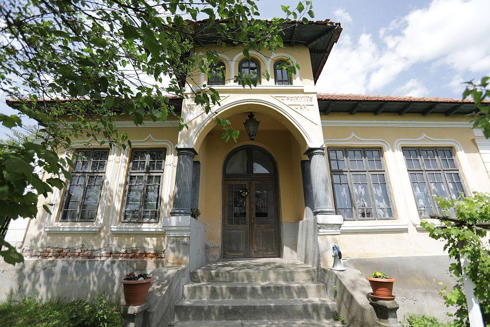 Casa familie Dinuță înainte de renovare.