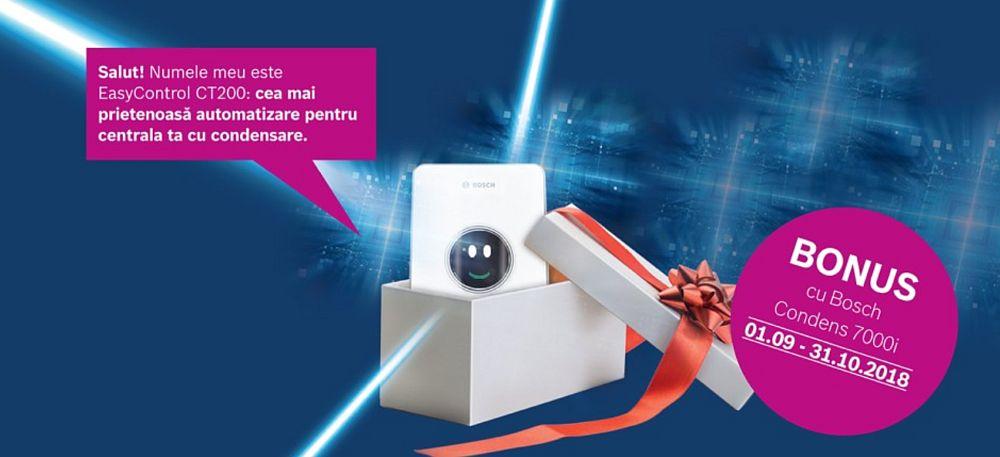 adelaparvu.com despre centrala termica Bosch Condens 7000i W plus termostat Easy Control