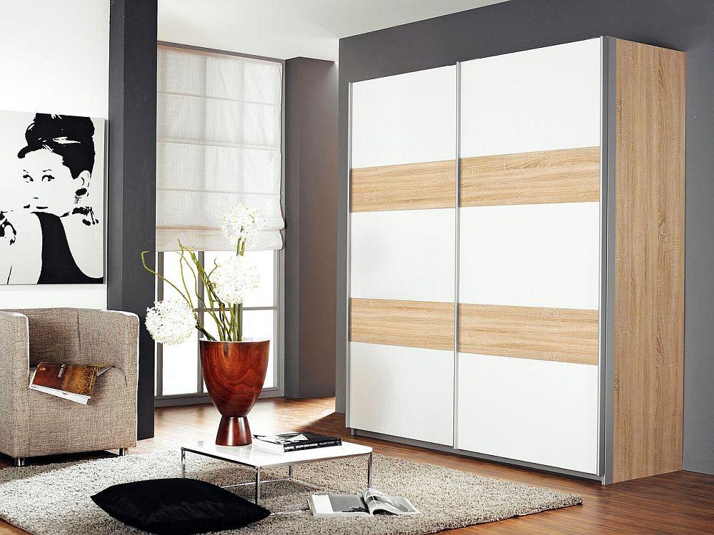 Dulap model Santo. Vezi dimensiuni, tip deschidere ușă, materiale și preț AICI.