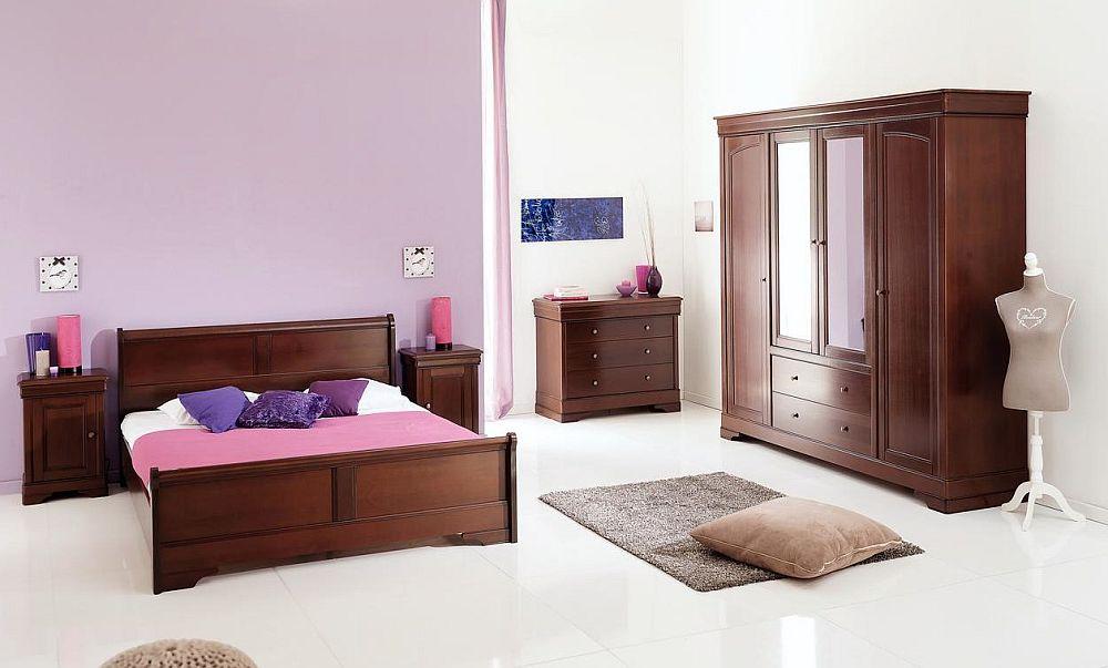 Dormitor colecția Armonia, fabricat în România. Vezi număr piese, materiale, dimensiuni, preț AICI.