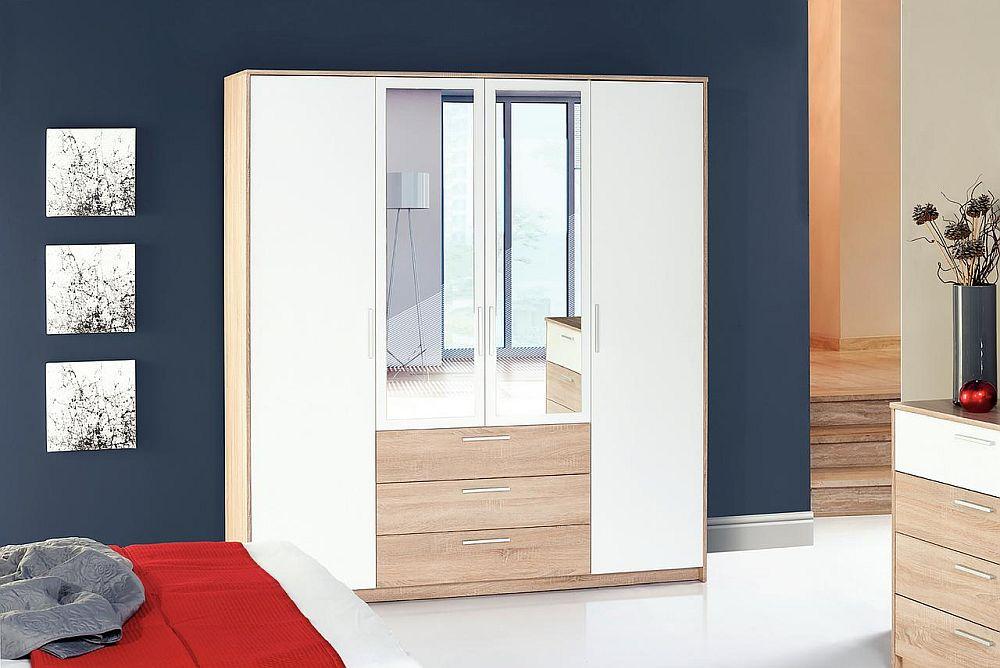Dulap model Milo. Vezi dimensiuni, tip deschidere ușă, materiale și preț AICI.