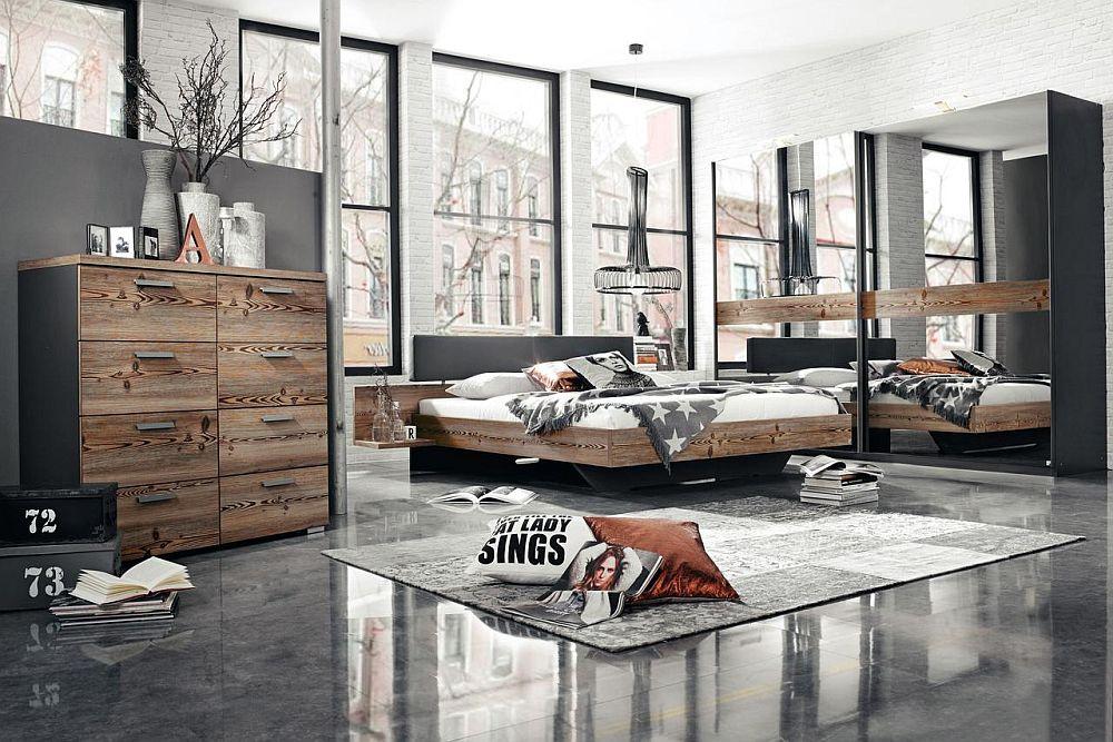 Dormitor colecția Montreal. Vezi număr piese, materiale, dimensiuni, preț AICI.