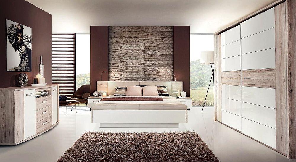 Dormitor colecția Rondino. Vezi număr piese, materiale, dimensiuni, preț AICI.
