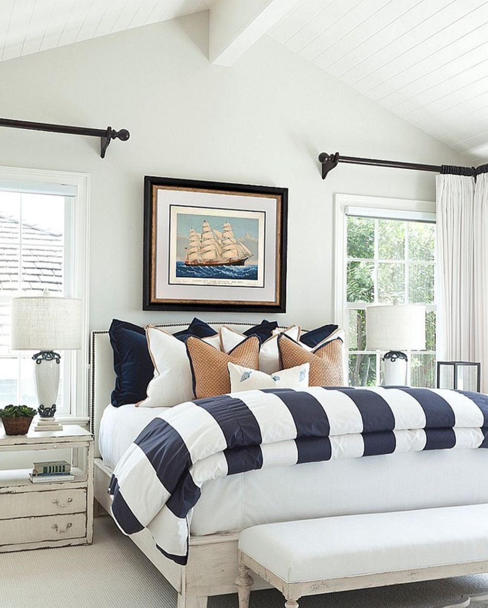 adelaparvu.com despre stilul marin, coastal style, Foto Barclay Butera Interiors