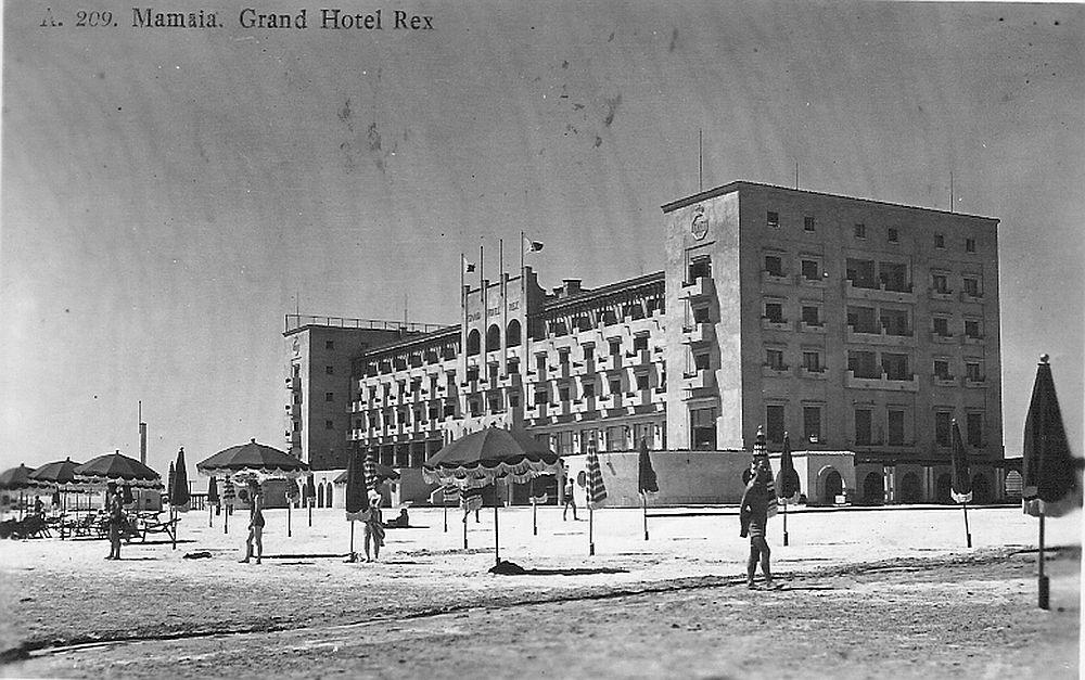 Imagine de arhivă 1938 cu hotelul Grand Rex Mamaia.