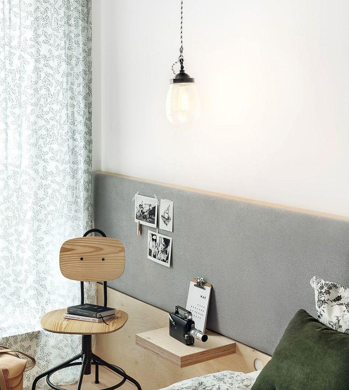 adelaparvu.com despre apartament cu placaj in stil marin, design Maka Studio, Foto Tom Kurek (8)