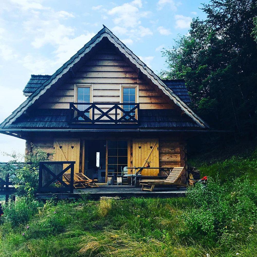 adelaparvu.com despre casa din lemn la munte, DOM Kawa na Kotarzu, Polonia, Foto Michal Skorupski (4)