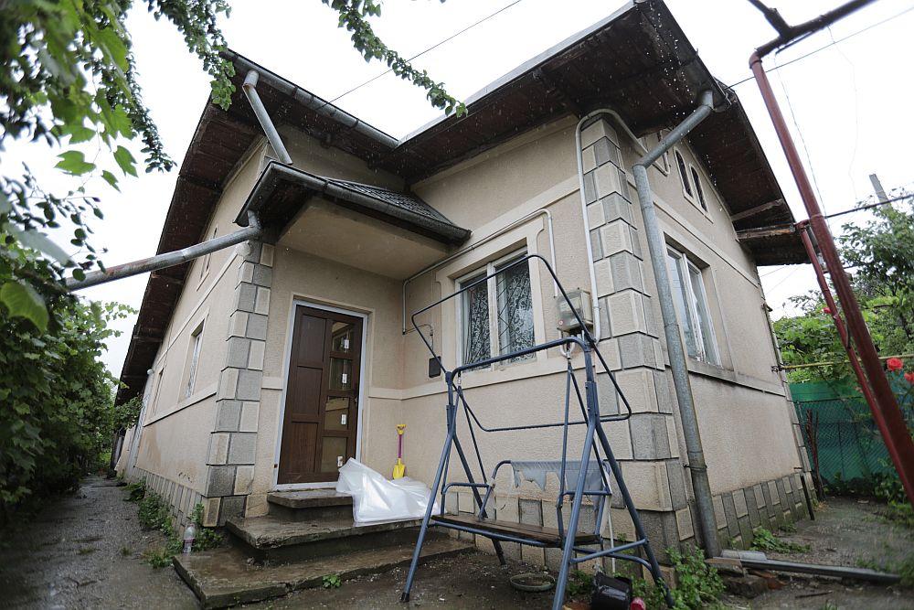 Casa înainte de renovare.
