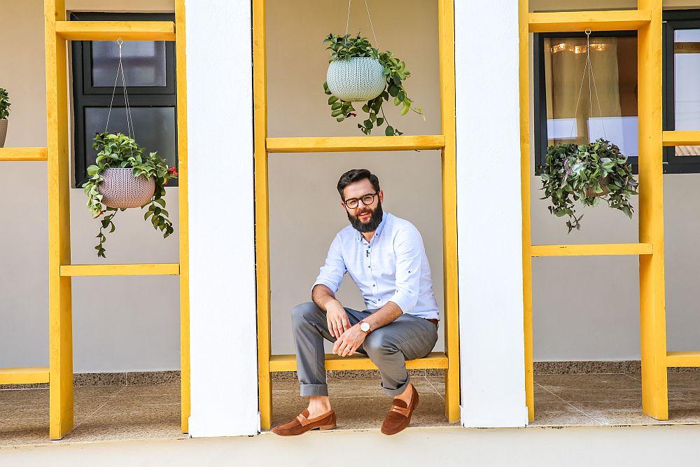 Colegul nostru, arhitectul Valentin Ionașcu.
