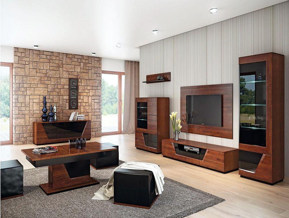 Gama pentru living și sufragerie Smart. Piesele pot fi cumpărate separat. Vezi detalii despre număr piese, dimensiuni, preț AICI.