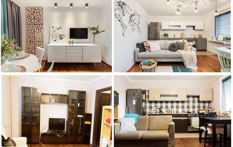 adelaparvu.com despre renovare bucatarie deschisa cu living, 20 mp, designer Iwona Bernaciak, Foto Monika Filipiuk-Obalek (12)