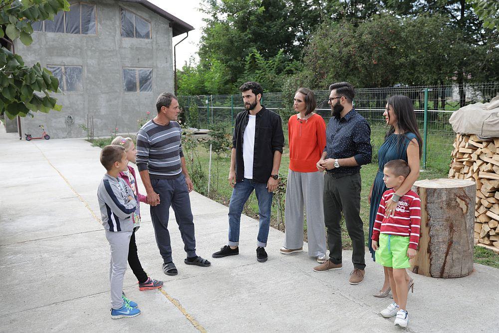 Întâlnirea cu familia Popa din Vărbilău, județul Prahova.