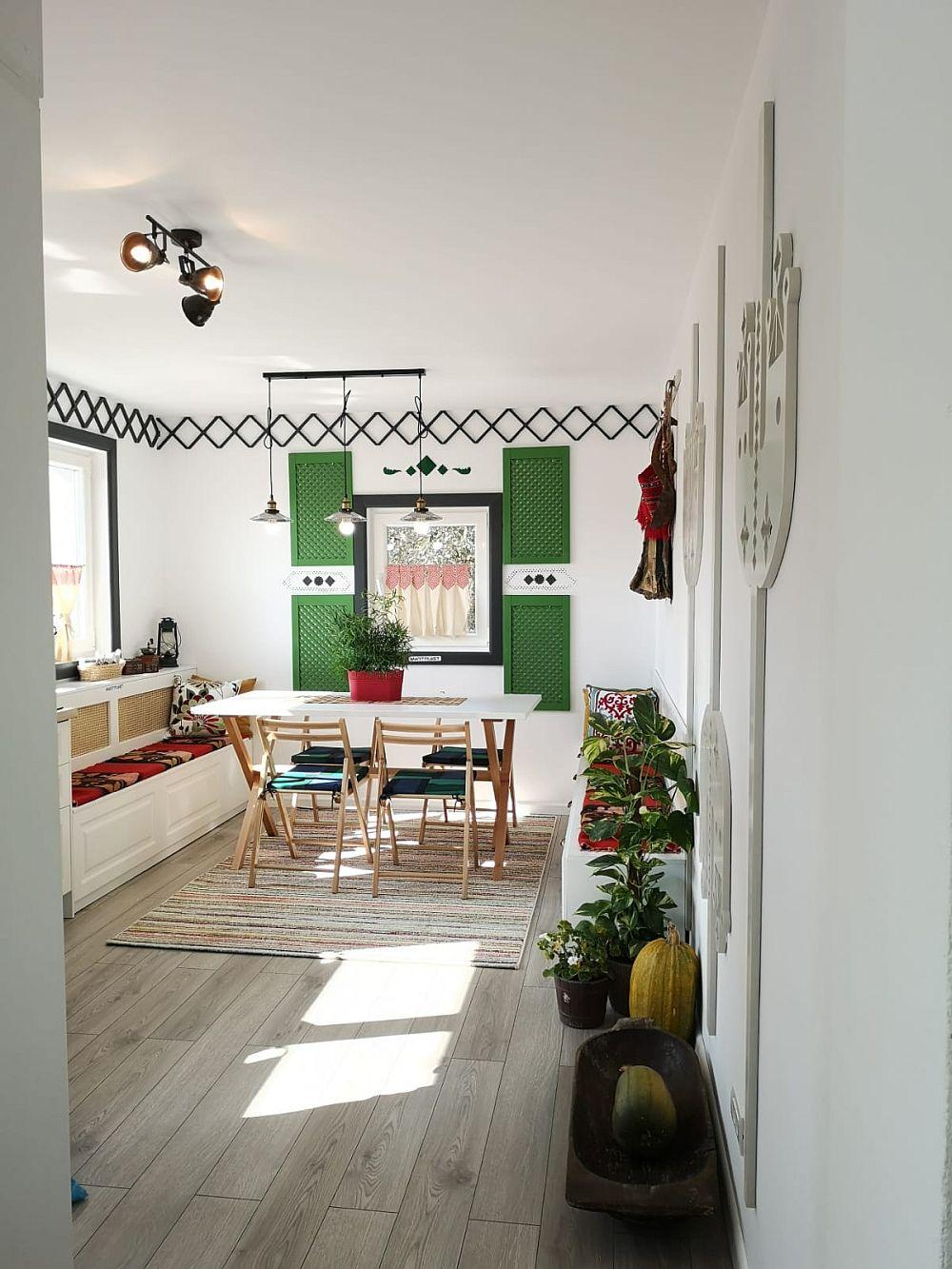 Bucătăria DUPĂ renovarea făcută de echipa Visuri la cheie.