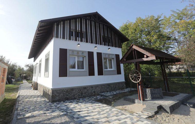 Casa DUPĂ renovarea făcută de echipa Visuri la cheie.