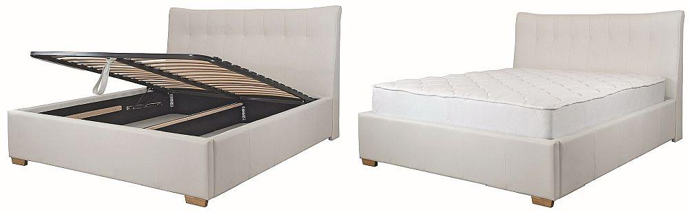 Pat ANDREA 160 x 200 cm - VEZI LINK AICI Super preț: 1.349 lei Include ladă depozitare și somieră. Salteaua este disponibilă contra cost.