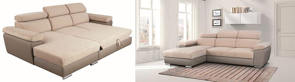 Colțar GRENADA - VEZI LINK AICI Preț vechi: 3.699 lei Preț nou: 2.769 lei Reducere: 25% Disponibil cu șezlong pe stânga sau dreapta, funcție pat, ladă de depozitare.