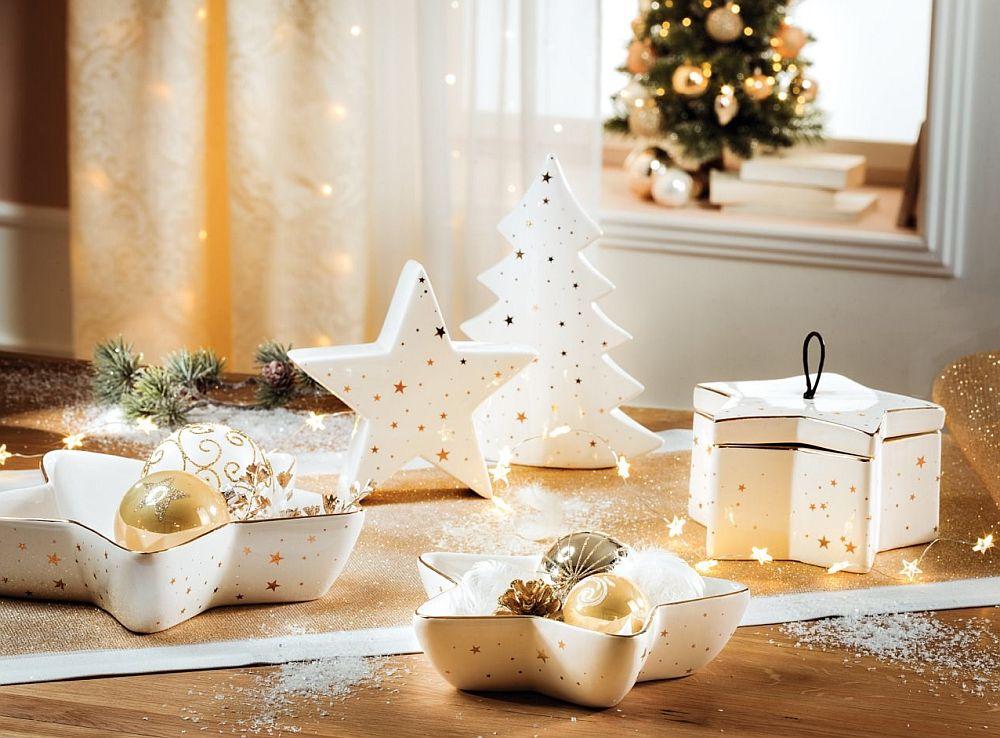 Pentru decorul mesei, dar și al casei, vezi mai multe decorațiuni de Cracăiun AICI.