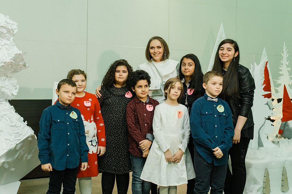 Mi-am făcut și eu o poză alături de copii, cei care pentru mine reprezintă clar viitorul nostru al tuturor.