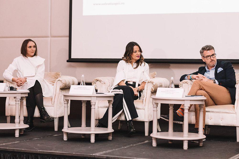 Am fost onorată de invitația celor de la Salvați Copiii România să fiu alături de Andreea Raicu și James Simmons speaker la conferința de presă din 2018.