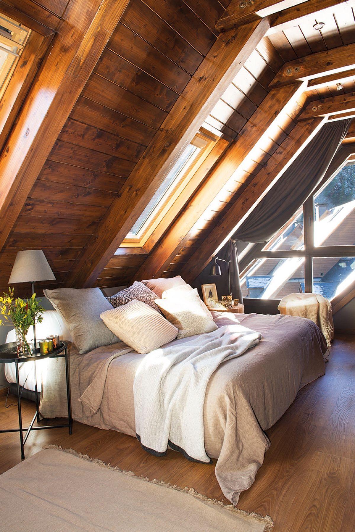 Frumusețea lemnului nu constă doar în textura sau culoarea lui, ci și prin faptul că percepția asupra acestui material se schimbă odată cu lumina naturală. În fiecare moment al zilei poate apărea diferit tocmai pentru că și razele soarelui ori intensitatea luminii este diferită.