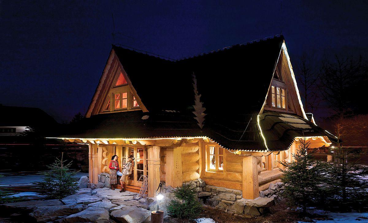 adelaparvu.com despre cabana din lemn rustica, Gorska Osada, Polonia, designer Urszula Gorska-Iwicka, Foto Rafal Lipski (8)