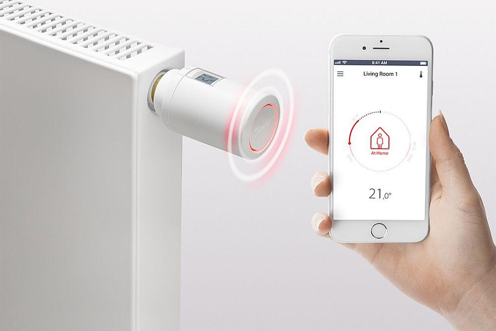 Noua gamă digitală de robinete cu termostat de la Danfoss a fost premiată în acest an 2018 cu premiul Red Dot Design Award.
