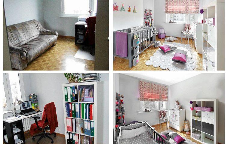 adelaparvu.com despre birou transformat in camera copilului, design Iza Szewc, Foto Bernard Bialorucki (3)