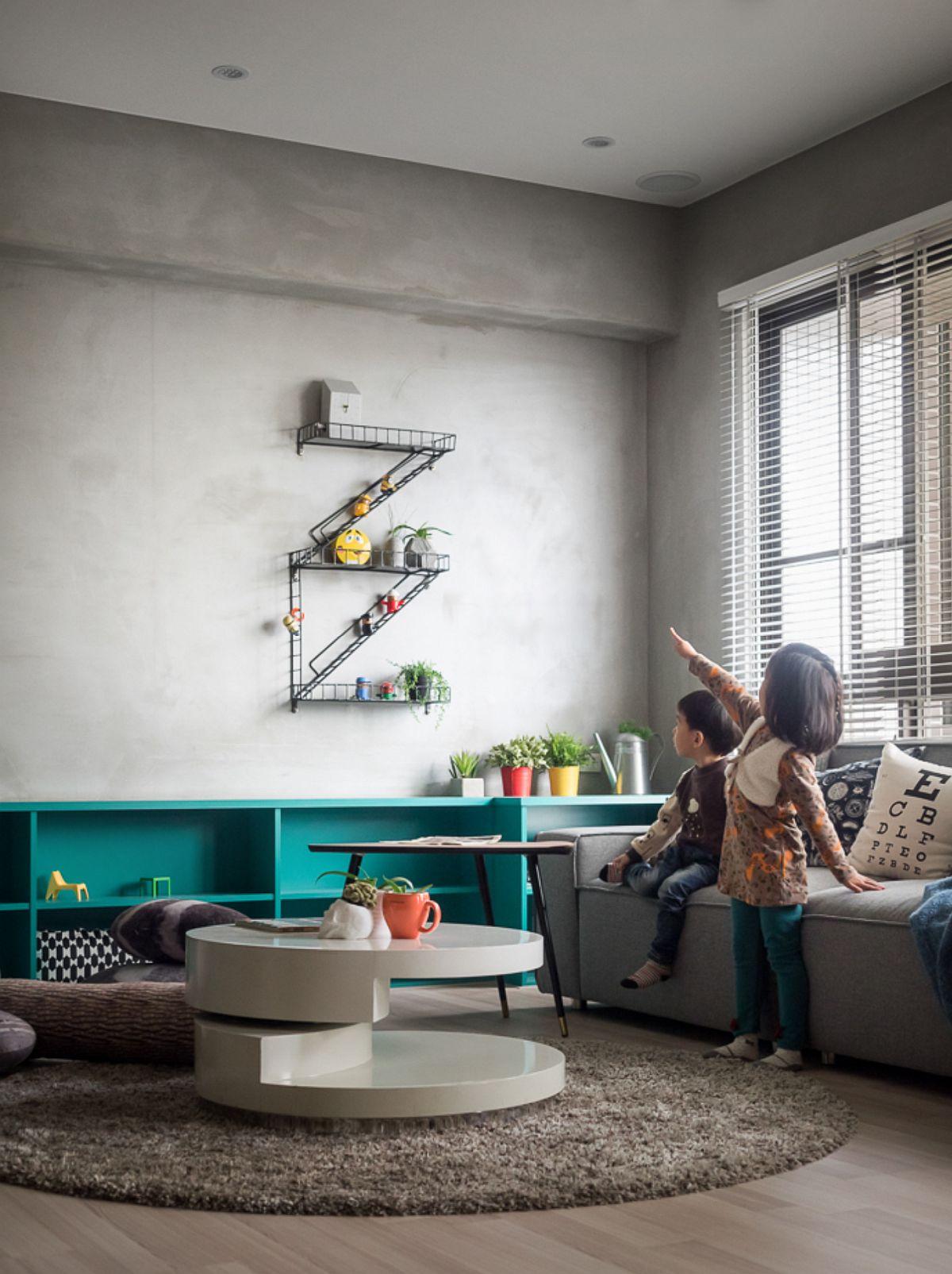 adelaparvu.com despre apartament pentru familie 124 mp, design interior HAO Design (1)