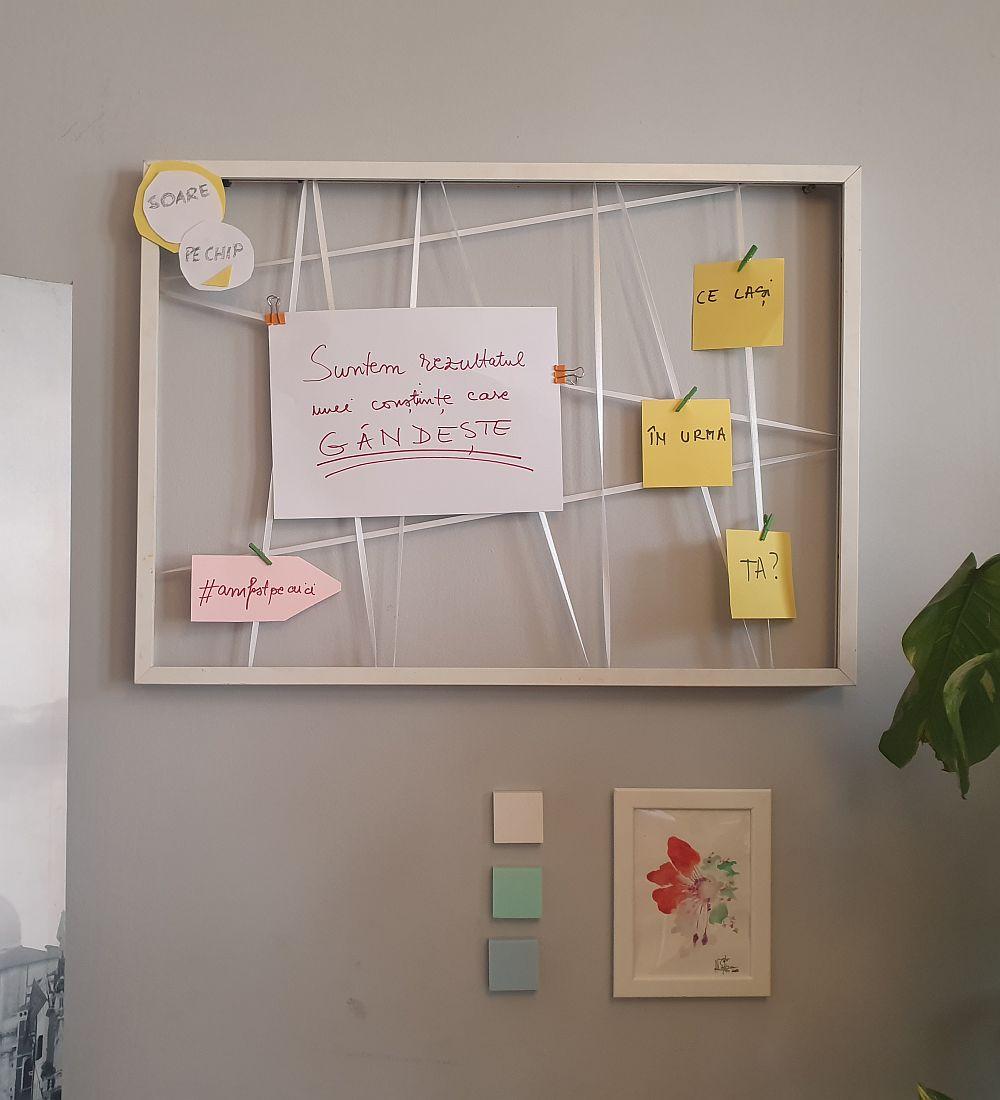 adelaparvu.com despre idei bricolaj, refolosire creativa rama foto (5)