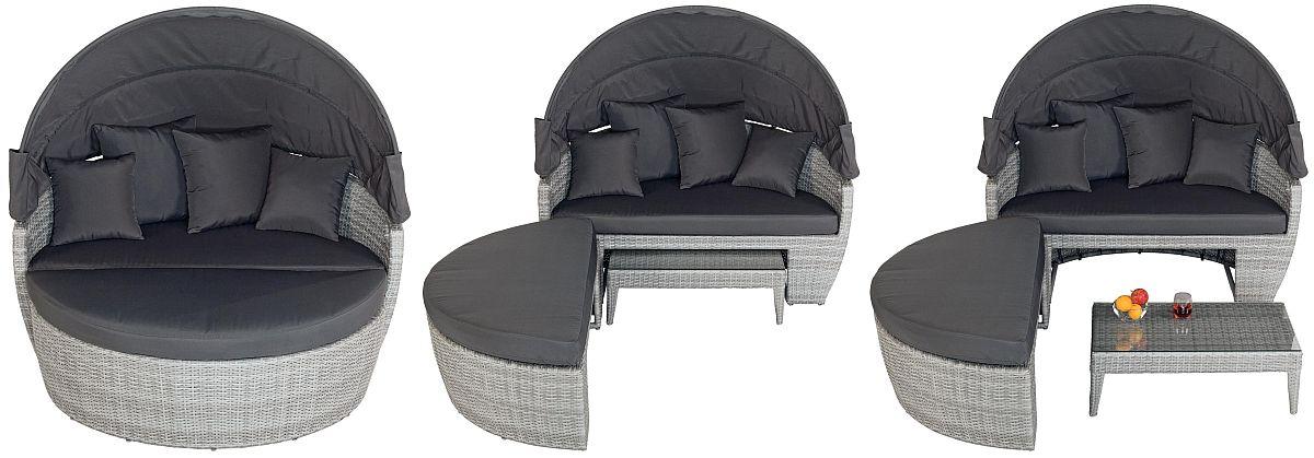 Setul de mobilier Lauris poate fi configurat în funcție de nevoi și spațiu. Vezi detalii preț AICI.