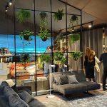 adelaparvu.com despre Salone del Mobile 2019, in foto standul Lago