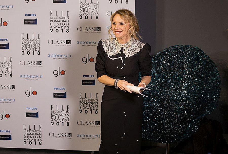 Camelia Șucu, proprietar ClassIN și un mare susținător al designului.