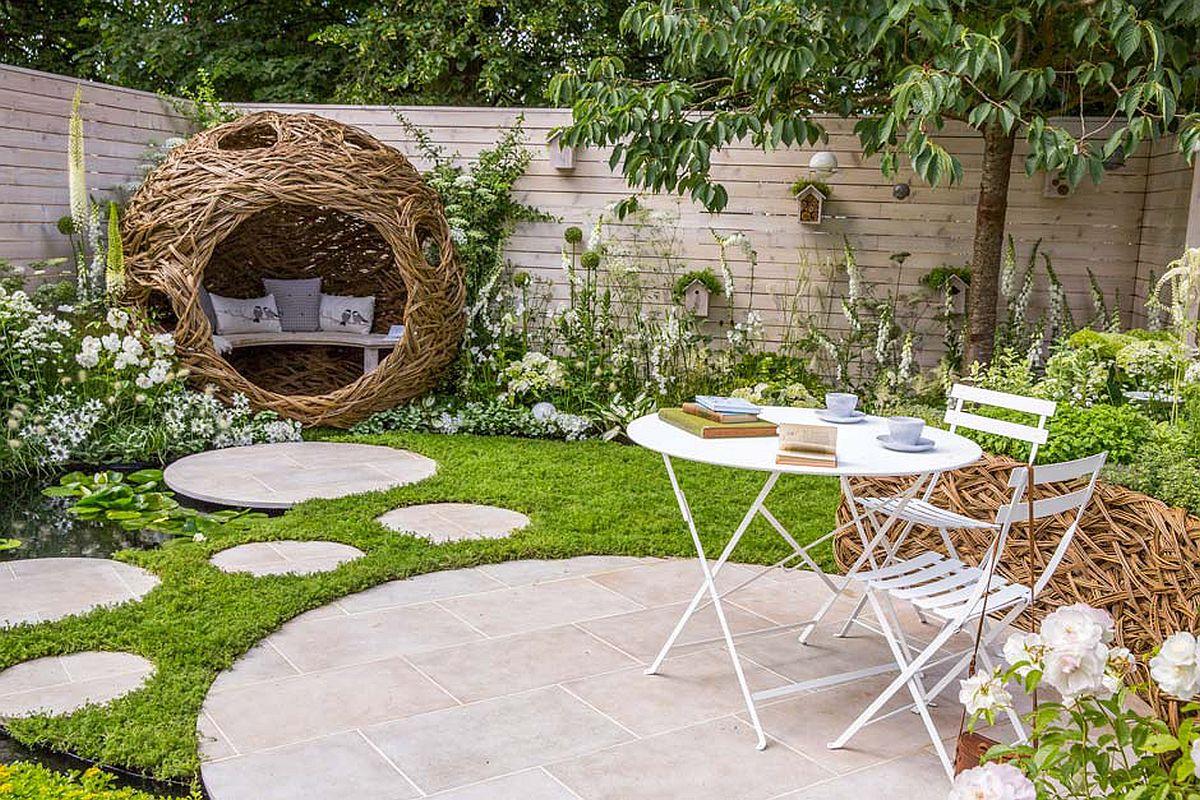 Grădina denumită City Twitchers a fost concepută pentru cei care vor să se relaxeze observând natura. Ca atare, întregul spațiu este