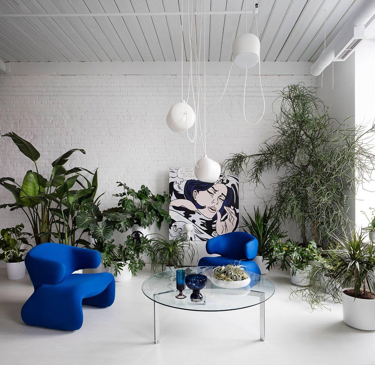 adelaparvu.com despre idei de decorare a casei cu plante, Foto stephane chamard