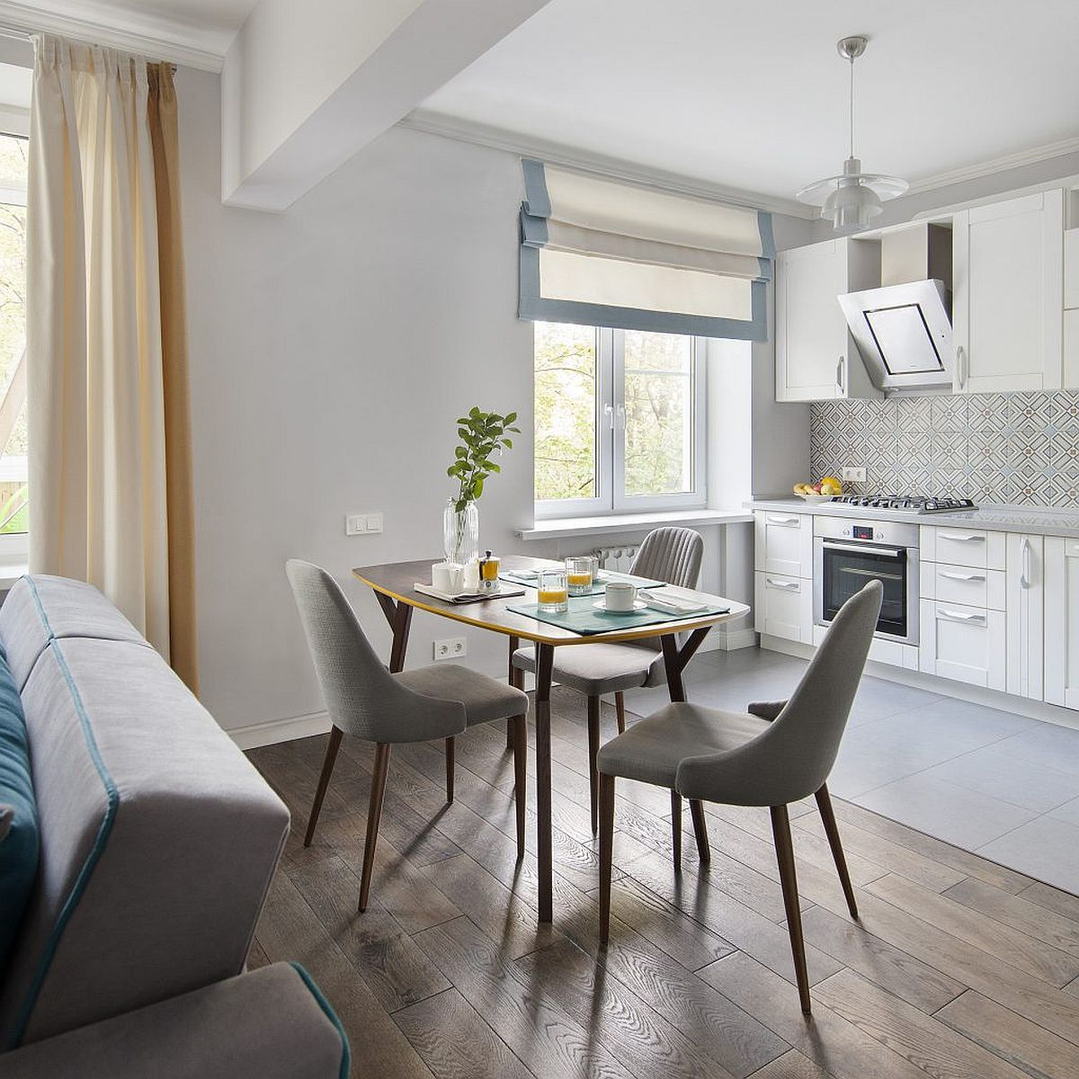 adelaparvu.com despre amenajare apartament 2 camere, 50 mp, design ElBorn Studio, Foto Yuri Grishko (6)