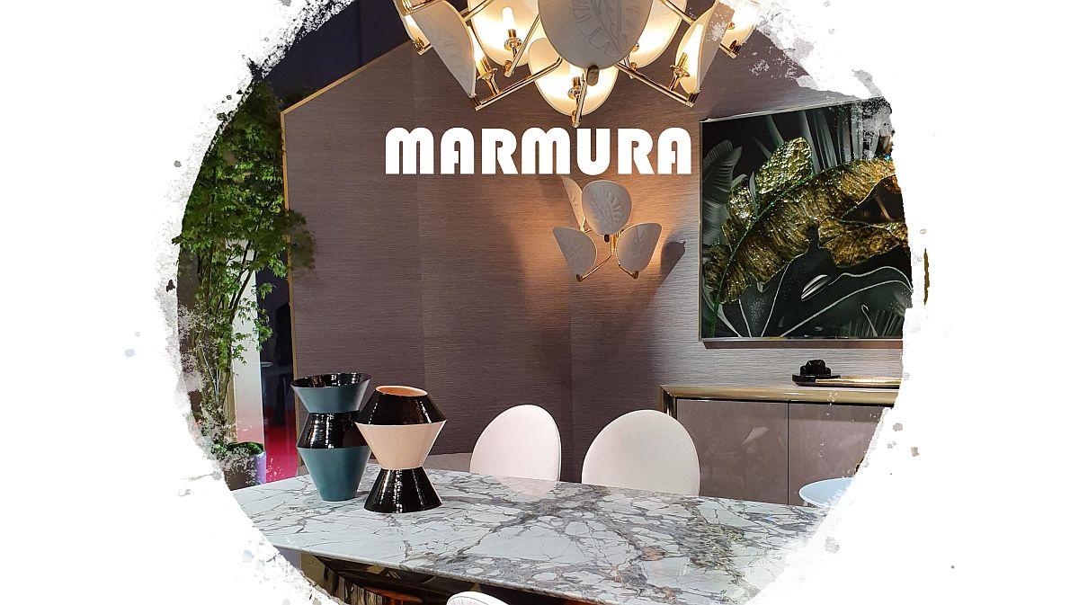 adelaparvu.com despre tendinte Milano 2019, texturi MARMURA (4)