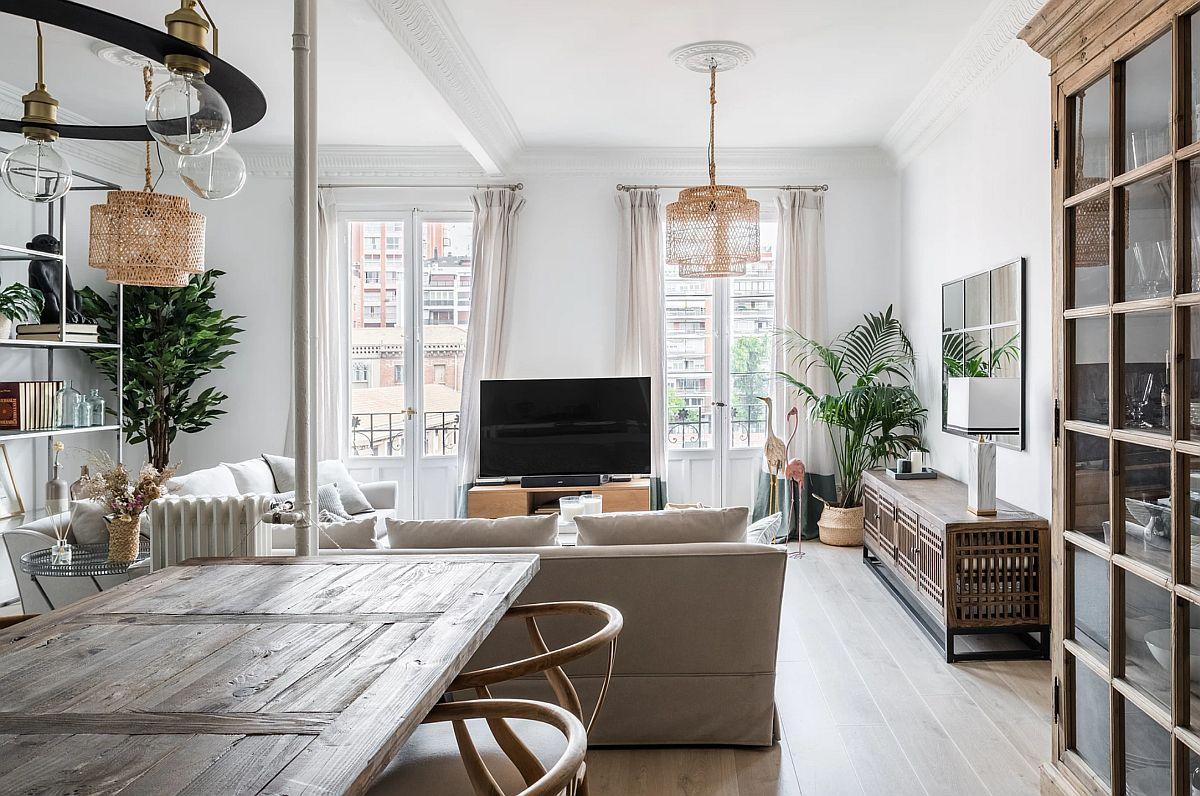 adelaparvu.com despre amenajare apartament in stil urban jungle, design Hoc Volo, Foto Javier Bravo si Felipe Schefell (11)