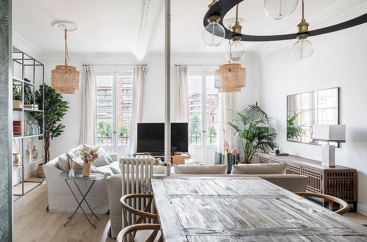 adelaparvu.com despre amenajare apartament in stil urban jungle, design Hoc Volo, Foto Javier Bravo si Felipe Schefell (13)