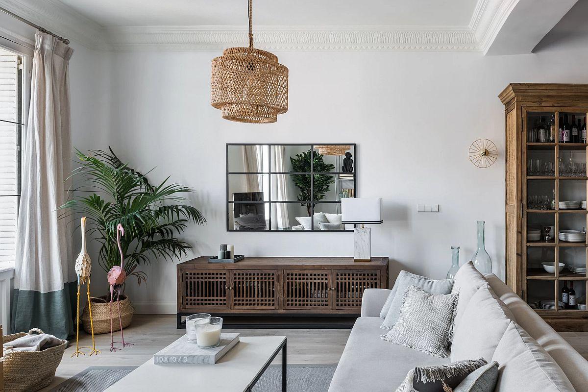 adelaparvu.com despre amenajare apartament in stil urban jungle, design Hoc Volo, Foto Javier Bravo si Felipe Schefell (3)