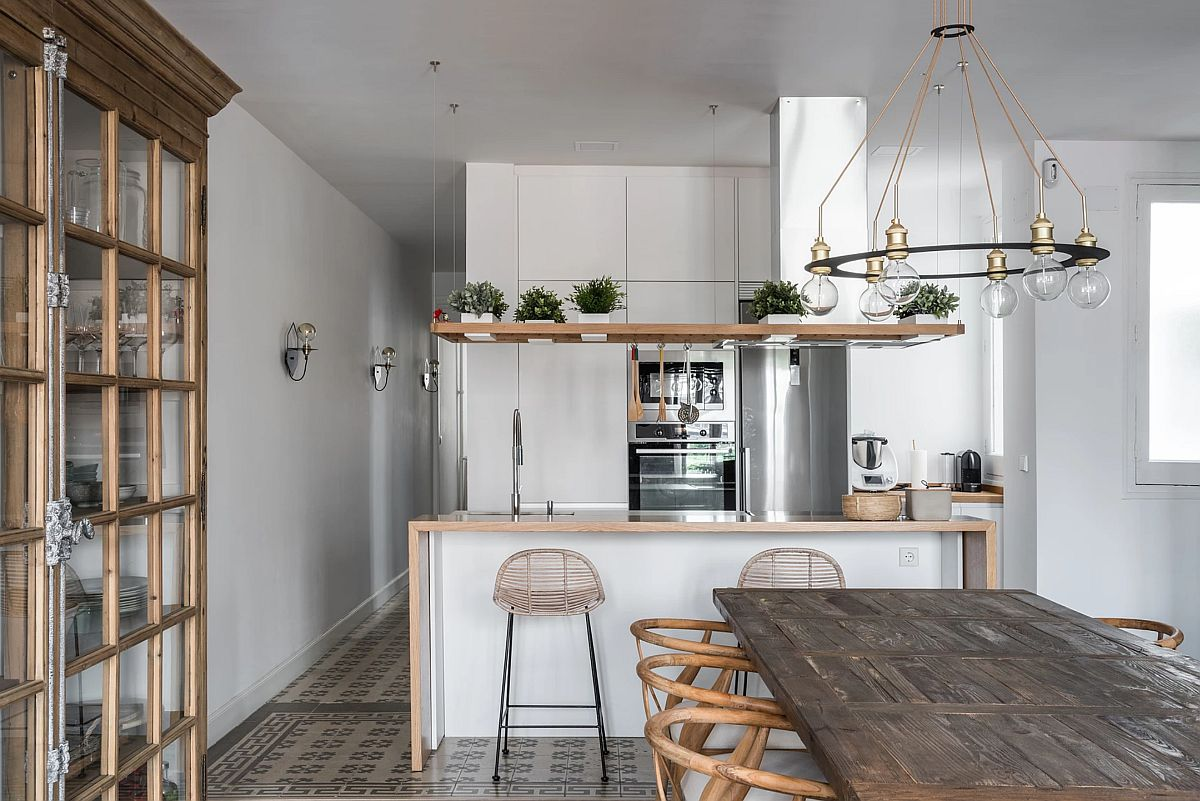 adelaparvu.com despre amenajare apartament in stil urban jungle, design Hoc Volo, Foto Javier Bravo si Felipe Schefell (6)