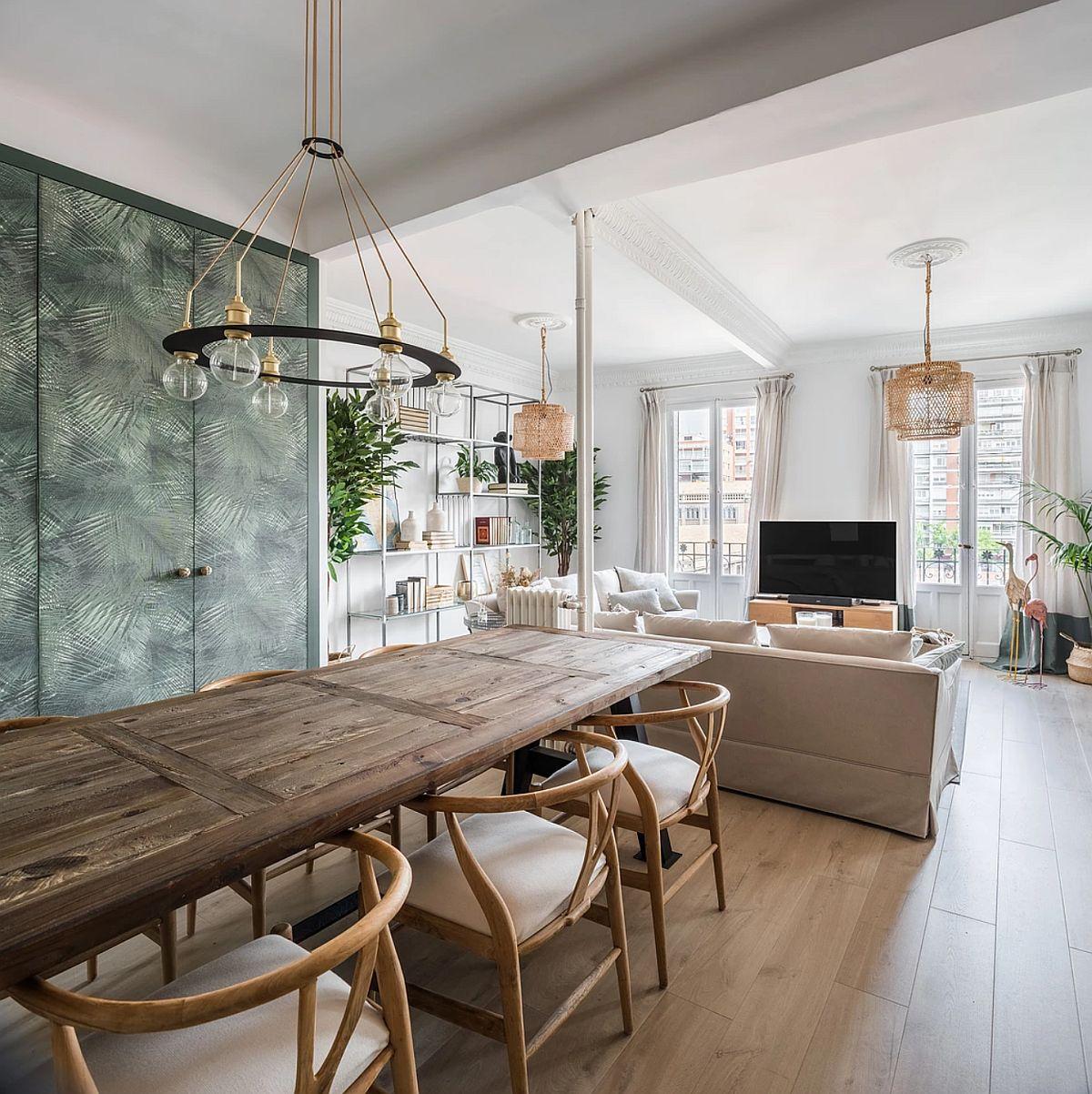 adelaparvu.com despre amenajare apartament in stil urban jungle, design Hoc Volo, Foto Javier Bravo si Felipe Schefell (7)
