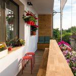 adelaparvu.com despre amenajare balcon Bucuresti, proiect Hornbach Romania (4)
