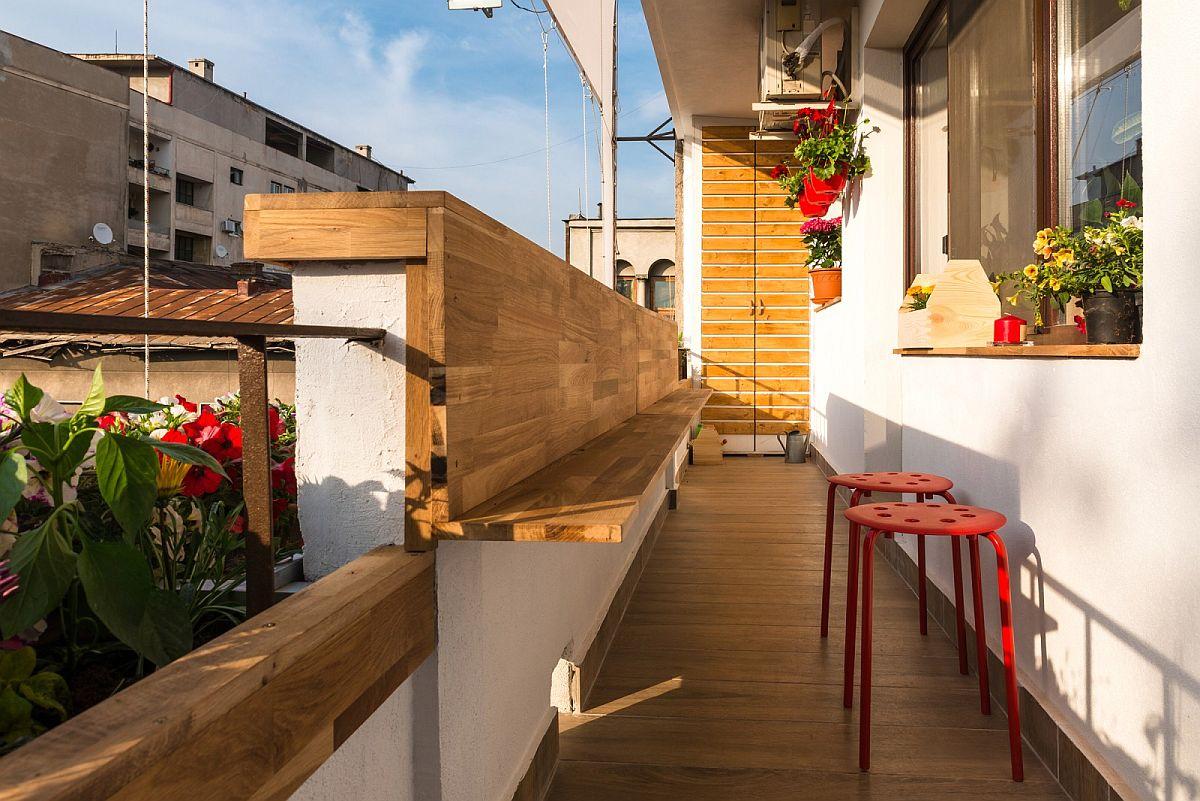 adelaparvu.com despre amenajare balcon Bucuresti, proiect Hornbach Romania (5)